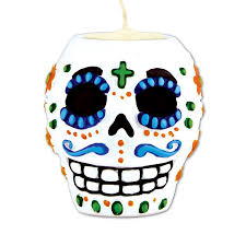 Light Holder Amazon Com Day Of The Dead Male Tea Light Holder Tea Light Not