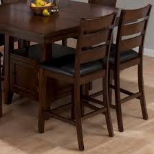 butterfly leaf dining table set jofran 337 54 taylor 7 piece butterfly leaf counter height table set