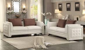 Contemporary White Leather Sofas Azure Contemporary Leather Sofa