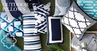 outdoor pillows williams sonoma
