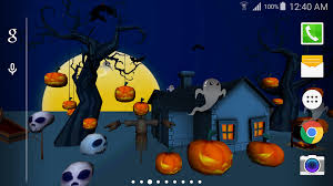 halloween lightning background 3d halloween live wallpaper android apps on google play