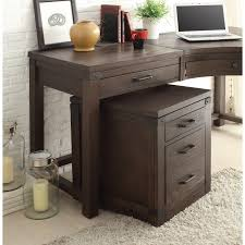 3 drawer curved corner desk by riverside furniture wolf and