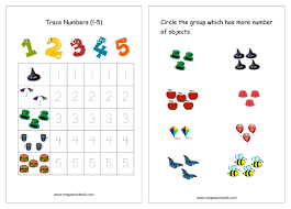 free worksheets and study material for preschool and kindergarten