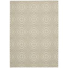nourison overstock enhance ivory grey 8 ft x 10 ft area rug