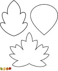 various leaf shapes from palette lots of great templates