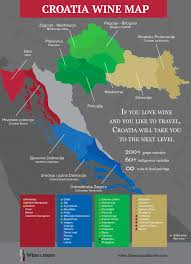 Italy Wine Regions Map by Croatian Wine Map Wine Regions Of Croatia The Wine U0026 More