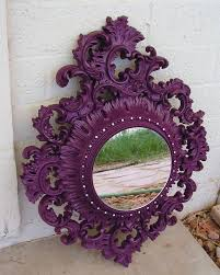 Decorating With Plum Decorating With Mirrors Decorative Walls Hollywood Regency And