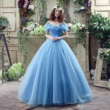 wedding dress search hot search 2017 cinderella blue color wedding dresses real picture