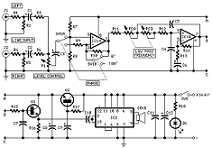 circuit diagram for car subwoofer driver from redcircuits