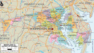 maryland map maryland map travelsfinders