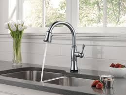Kitchen Faucets Touch Technology Faucet Com 9197t Ar Dst Sd In Arctic Stainless By Delta