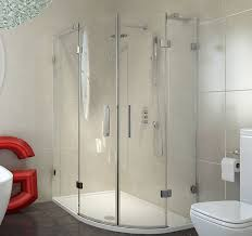 1400 Shower Door 1000x900mm 8 Series Frameless Offset Quadrant Shower Enclosure