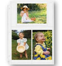 Photo Album Refill Pages 4x6 Double Weight 4x6 Photo Pocket Pages Photo Pocket Pages Exposures