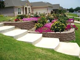 Small Sloped Garden Design Ideas How To Landscape A Sloped Backyard Landscape Ideas For Sloped