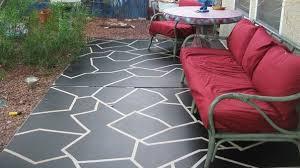 customize concrete patios fascinating painting patio concrete