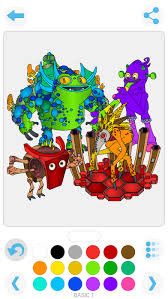 My Singing Monster My Singing Monsters Coloring Book Apps 148apps