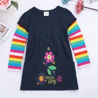 winter fur dresses baby girls dresses children kids gray blue