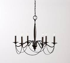 Candle Chandelier Pottery Barn Graham Chandelier Pottery Barn