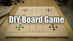 easy gift project homemade board games 225 youtube