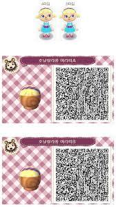 animal crossing new leaf qr codes hair image result for animal crossing new leaf hair hat qr codes