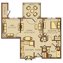 one bedroom cottage floor plans floor plans kendal at
