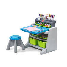 Step2 Deluxe Art Desk With Splat Mat 100 Step2 Art Master Desk With Chair Step2 Craft U0026