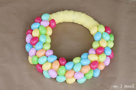 how to make an easter egg wreath googly easter egg wreath no 2 pencil