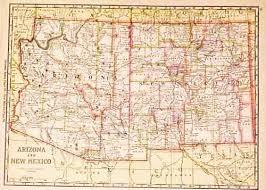 map of az prints arizona page