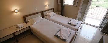 Twin Bed Hotel by Double Room Twin Beds Ionis Hotel In Lefkada Greece