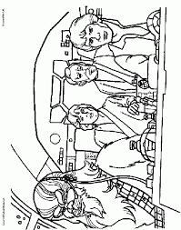 luke leia coloring pages kids coloring