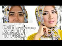 tutorial make up natural untuk kulit coklat cara makeup natural untuk kulit sawo matang nan eksotis youtube