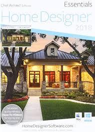 amazon com chief architect home designer essentials 2018 dvd