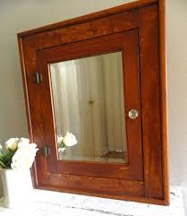 bathroom cabinets decorative wood framed beveled mirror and