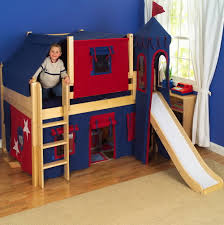 Bunk Beds Boys White Bunk Bed With Slide Home Design Ideas