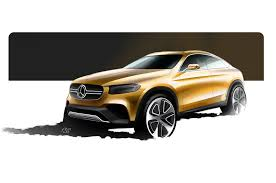 mercedes benz concept glc coupe first look