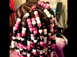hair beading girl hair beading