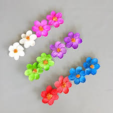 flower decoration for hair hawaiian hibiscus flower hair for luau party