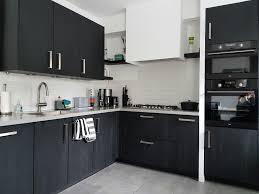 lack kchen schwarz onze zwarte keuken our black kitchen rotpunkt zerox schwarz