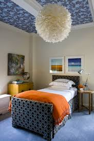 blue and orange boys bedrooms design ideas