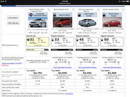honda car comparison comparison of a honda civic gas car with a gasoline honda