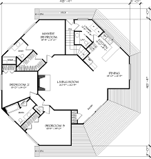 house plans designers the octagon 1371 3 bedrooms and 2 baths the house designers