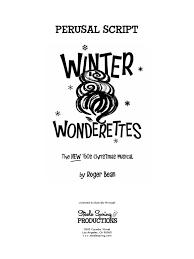 winter wonderettes christmas leisure