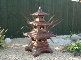 three tier pagoda garden statue ornament japanese koi berkshire