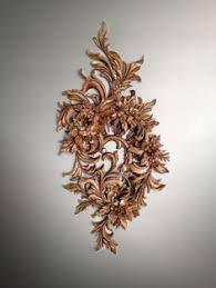 the wall decoration custom ornamental wood carving wood