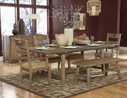 7 pc oxenbury collection southern country style weathered