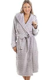 amazon robe de chambre femme camille robe de chambre pour femme polaire douce motif