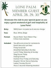 2017 member guest u2014 lone palm golf club