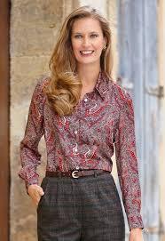 paisley blouse satin paisley blouse