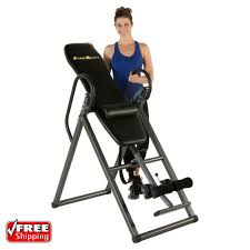 back relief inversion table inversion therapy table heavy duty gravity back pain relief fitness