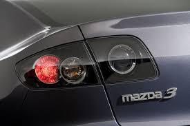 mazda 3 tail lights 2009 mazda 3 sedan tail light picture pic image
